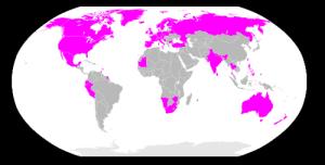 Voldtekt i ekteskapet er forbudt i Nord-Amerika, det meste av Europa, samt spredte enkeltland, blant anna landa heilt sør i Afrika, Ecuador, Peru, Mauretania, India, Thailand og Australia