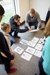 Bilde av studenter