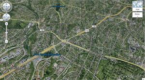 Skjermdumpfaksimile fra Google Earth. Bildet lenker til Google Earth.