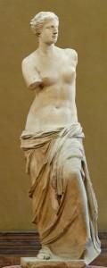 """Bilde av skulpturen """"Venus fra Milo"""""""